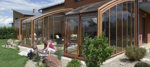 可移动式阳光房-庭院设计-花园设计案例